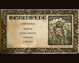 Incredipede Windows Main menu.