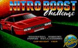 Nitro Boost Challenge Atari ST Title screen
