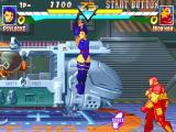 Marvel Super Heroes PlayStation Psylocke vs Iron Man