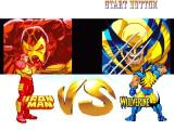 Marvel Super Heroes PlayStation Iron Man vs Wolverine