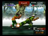 Fighters Destiny Nintendo 64 Kick in leg