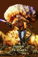 Duke Nukem: Critical Mass Nintendo DS Title screen