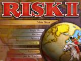 Risk II Windows Main Menu.