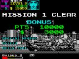 U.N. Squadron ZX Spectrum Mission 1 clear