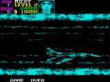 U.N. Squadron ZX Spectrum Game Over