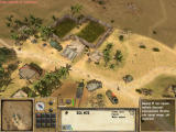 Desert Rats vs. Afrika Korps Windows Attack on enemy base