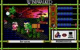 Windwalker Atari ST Entering the real game: big head all around