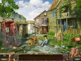 Stray Souls: Dollhouse Story iPad Sam's childhood town present day