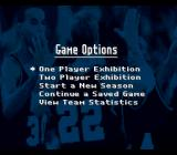NCAA Basketball SNES Game options