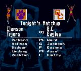 NCAA Basketball SNES Match