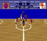 NCAA Basketball SNES Game starts