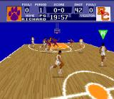 NCAA Basketball SNES Throw to buddy