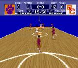 NCAA Basketball SNES Rival has ball