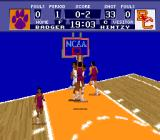 NCAA Basketball SNES Hot situation