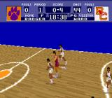 NCAA Basketball SNES Try to catch the ball