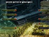 Decisive Battles of World War II: Battles in Normandy Windows Main Screen