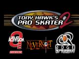 Tony Hawk's Pro Skater 2 Nintendo 64 Title screen.