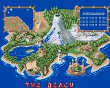 Puggsy Amiga A map of the world
