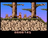 Puggsy Amiga THE RED WOODS - Groundhogs can cause trouble in this forest level