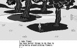 King's Quest II: Romancing the Throne Atari ST Picking up monochrome flowers would not be the same anyway  (Monochrome)