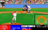 HardBall! Amiga The pitching and batting screen