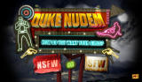 Duke Nudem Browser Title screen. Here you get to choose your level of nudity.