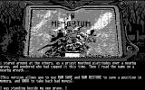 Scapeghost Atari ST At least the text is readable (Monochrome)