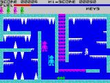 Caves of Doom ZX Spectrum Ice climate