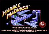 Marble Madness Genesis Title screen