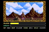 Ys III: Wanderers from Ys TurboGrafx CD Nice view on the way to Tigre mines. I'm just... tired and all
