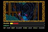 Ys III: Wanderers from Ys TurboGrafx CD Tigre Mines, home of crazy bats and nasty orcs