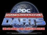PDC World Championship Darts Windows The game's title screen.