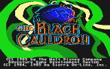 The Black Cauldron Atari ST Title screen