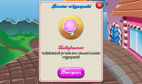 Candy Crush Saga Android After a set of levels a new booster is unlocked (Dutch tablet version).