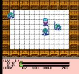 Esper Dream 2: Arata naru Tatakai NES The enclosed area means you cannot escape this battle