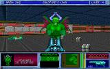 Blake Stone: Planet Strike! DOS Final fight against the morphed Dr. Goldfire