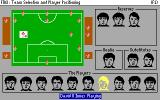 Football Manager 3 DOS Team Selection and Player Positioning (VGA)