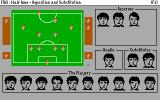 Football Manager 3 DOS Repositioning and substitution in match half time (VGA)