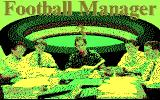 Football Manager 3 DOS Title Screen (CGA)