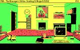 Football Manager 3 DOS The managers office (CGA)