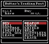 Wizardry: Proving Grounds of the Mad Overlord Game Boy Color When Expanded trade is enabled (which is the default option), you'll see categories for different items at the Trading Post
