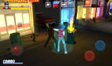 Kavinsky Android Launching the special attack.