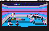 Leisure Suit Larry in the Land of the Lounge Lizards Atari ST Larry in action at the disco!