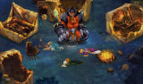Might & Magic: Clash of Heroes Android The demons attack the village.