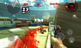 Dead Trigger Android Fighting inside a sports stadium.