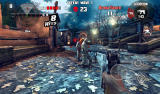 Dead Trigger Android Fighting at the graveyard.