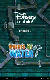 Where's My Water? Android Updated title screen