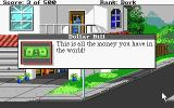 Leisure Suit Larry Goes Looking for Love (In Several Wrong Places) Atari ST Examining an object