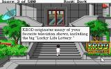 Leisure Suit Larry Goes Looking for Love (In Several Wrong Places) Atari ST In front of the KROD TV Studio