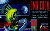Omnicron Conspiracy Atari ST Title screen